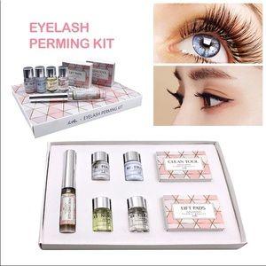 Eyelash perming kit